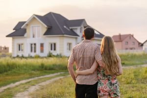 Couple and Home