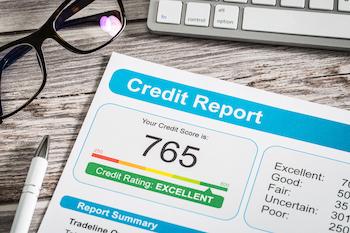 Credit score sheet